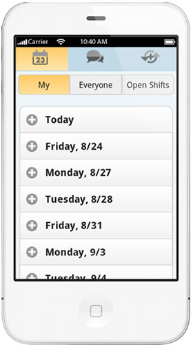 Access Employee Schedules from Mobile Phones